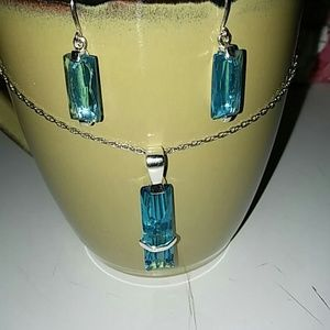 Jewelry - Stering Silver Earrings and pendant